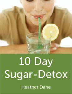 10 day sugar detox ebook cover