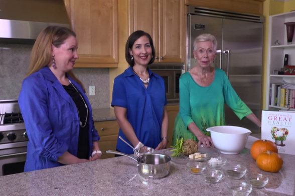 Celery Root Mashed Potatoes Recipe Video from Louise Hay's Kitchen