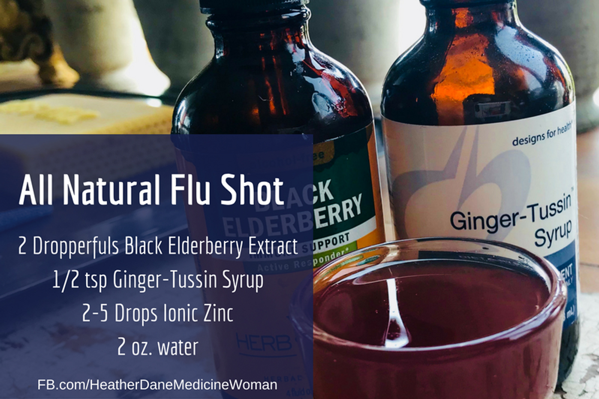 The flu shot only works 6% of the time. That is why I trust my all-natural flu shot. It seems to work every year, and has staved off many a cold or flu.