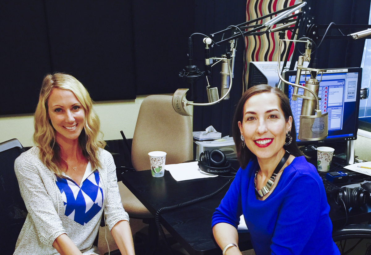 Christa Orecchio with Heather Dane on Hay House Radio