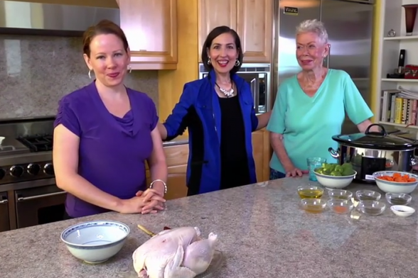 Delicious and Wholesome Chicken Recipe from Louise Hay's Kitchen