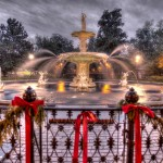 Forsyth Square Fountain in Savannah