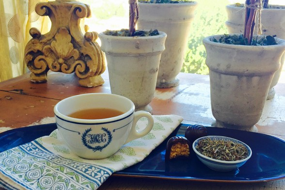 Holy Basil Tea to Boost Mood & Beat Stress