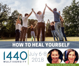 How to Heal Yourself When No One Else Can: Join us at 1440 Multiversity in July