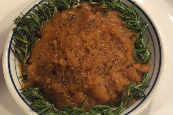 Oh So Good: Easy Mashed Butternut Squash