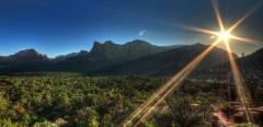 Sunrise in Sedona - photograph by Joel Dauteuil