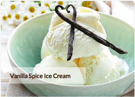 ... to digest and dairy free, vanilla spice ice cream is sure to delight