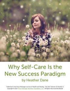 Why Self-Care Is the New Success Paradigm cover